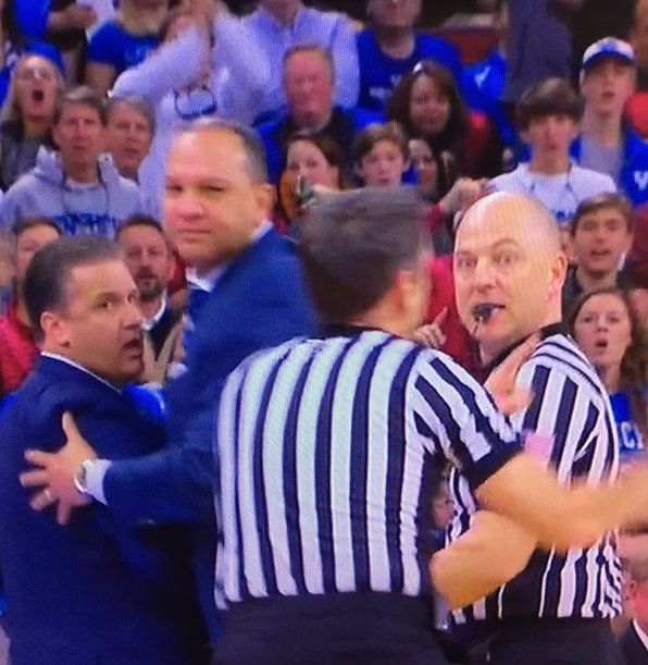 Coach cal ejected