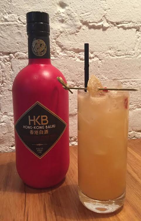 HKB Baijiu cocktail