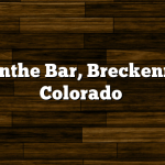 Absinthe Bar, Breckenridge Colorado