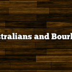 Australians and Bourbon