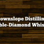 Downslope Distilling Double-Diamond Whiskey
