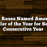 Four Roses Named American Distiller of the Year for Second Consecutive Year