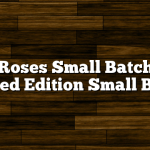 Four Roses Small Batch 2011 Limited Edition Small Batch