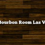 The Bourbon Room Las Vegas