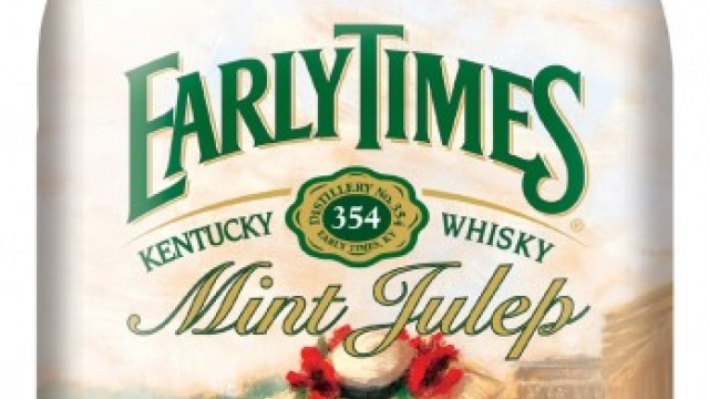 "Early Times Mint Julep named ""Official Drink of the Kentucky Derby"""