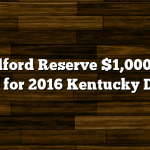 Woodford Reserve $1,000 Mint Julep for 2016 Kentucky Derby