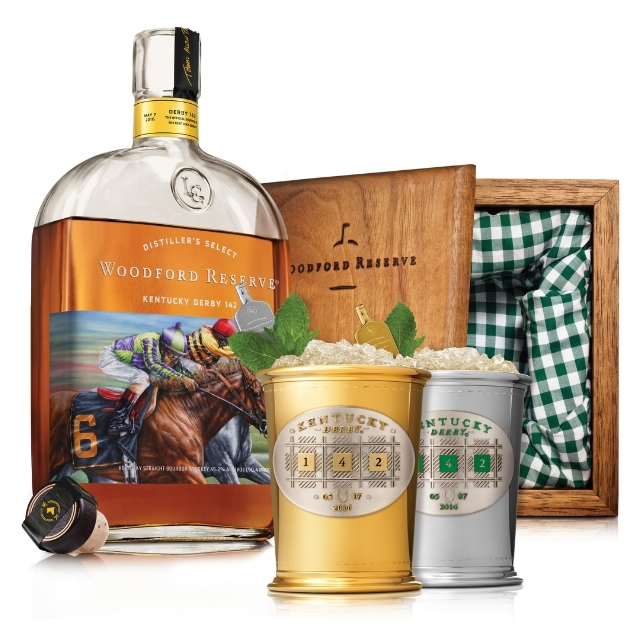 Woodford Reserve $1000 Mint Julep Cup 2016