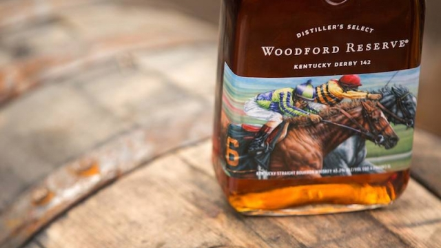 Woodford Reserve Kentucky Derby 142 Bottle for 2016