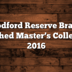 Woodford Reserve Brandy Finished Master's Collection 2016