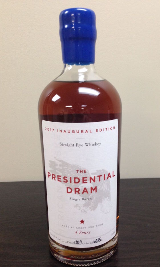 The Presidential Dram Inauguration Whiskey