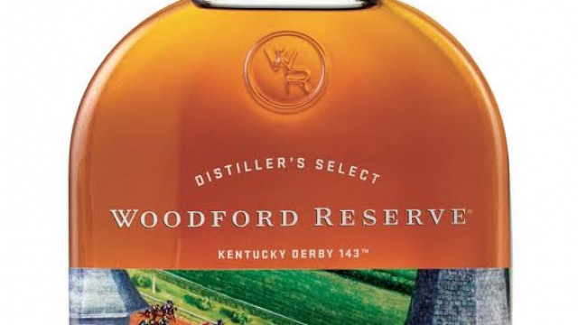 Kentucky Derby 143 Woodford Reserve Bourbon Commemorative Bottle for 2017
