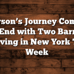 Jefferson's Journey Comes to an End with Two Barrels Arriving in New York This Week