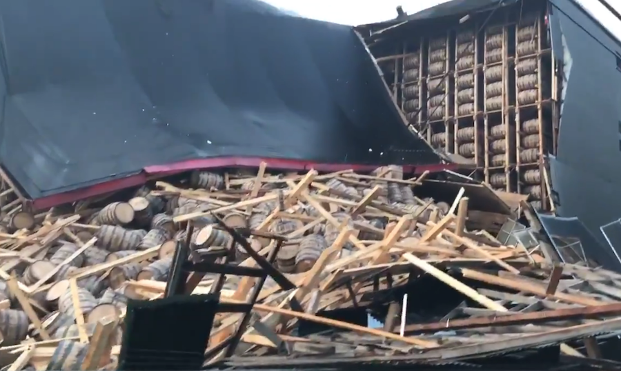 OZ Tyler warehouse collapse damage