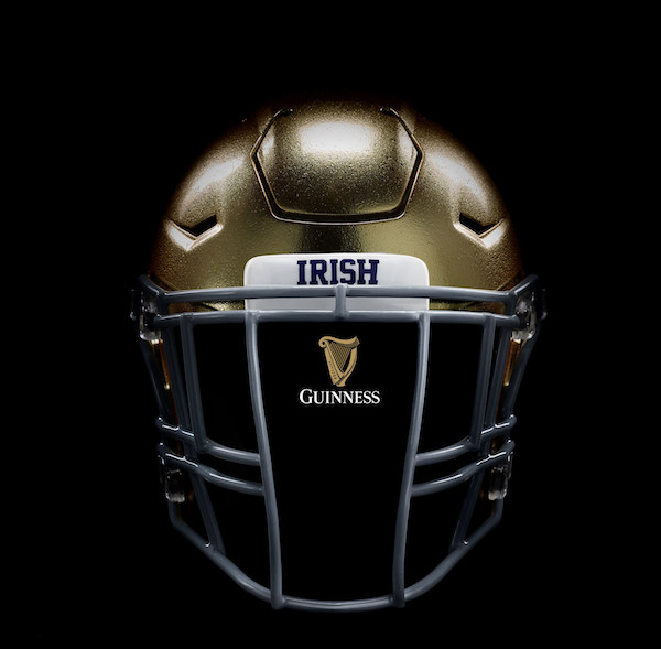 Guinness Beer Football Helmet