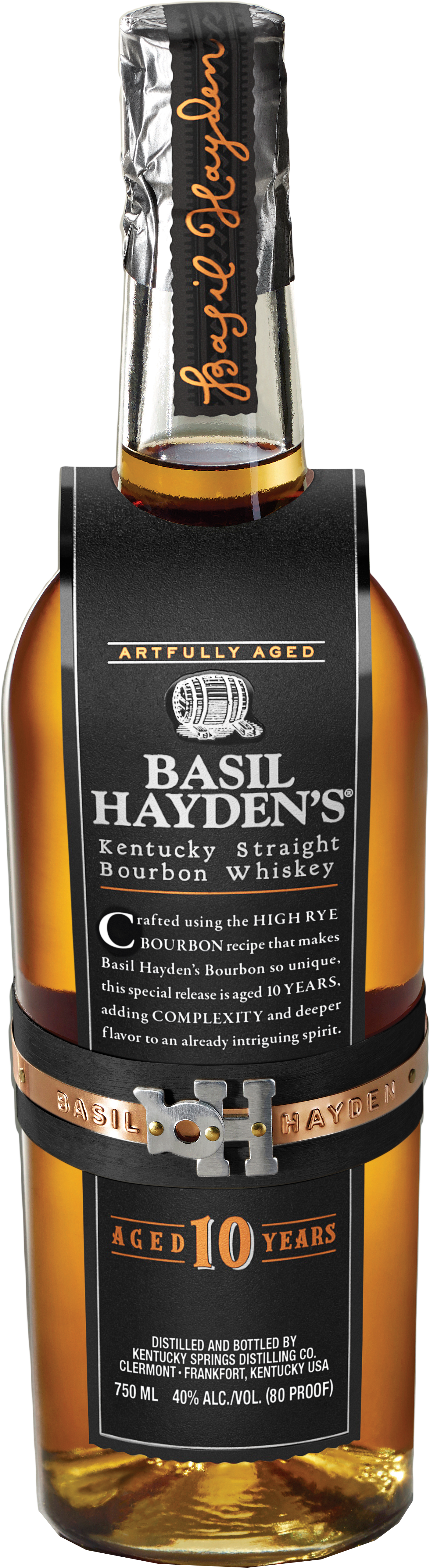 Basil Haydens 10 Year Old Bourbon Whiskey