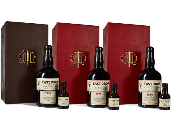 Last Drop Distillers Bourbon Cognac Rum Collection