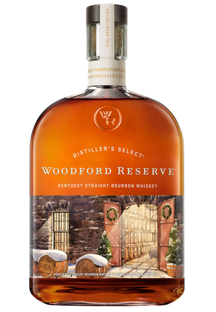 Woodford Reserve Holiday Bourbon Bottle